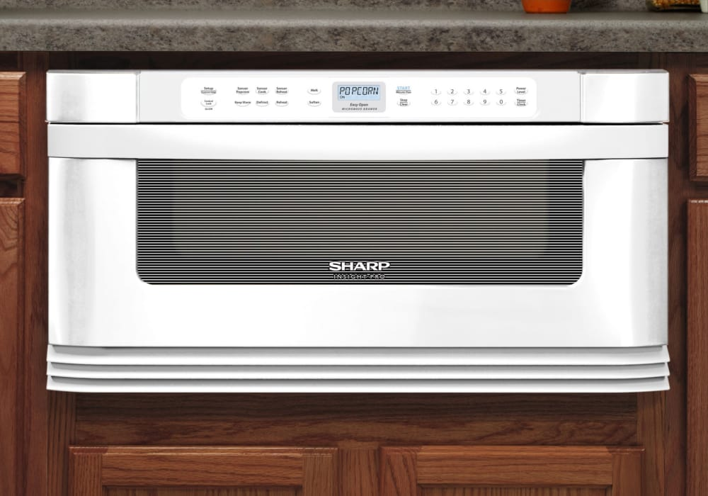 Sharp Kb6025mw 30 Inch Built In Microwave Drawer With 1 0