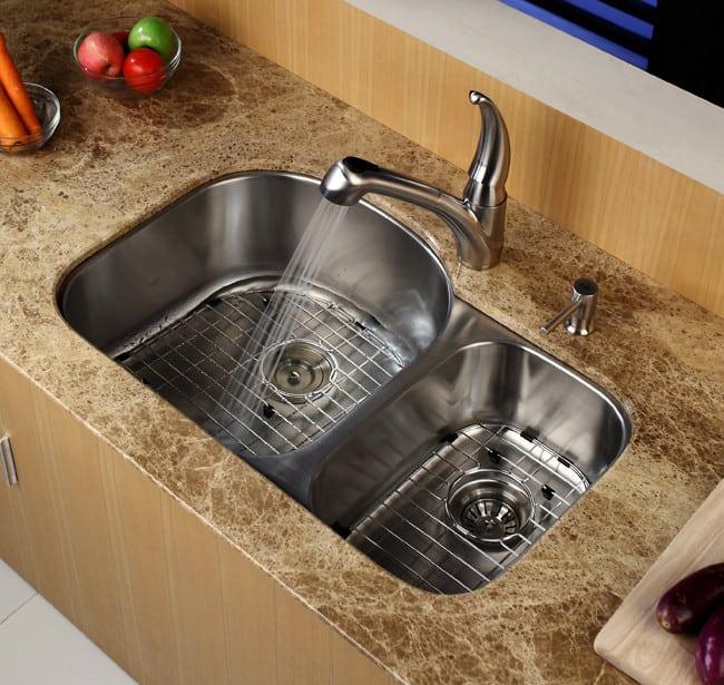 Sink Kraus Kbu23 Kitchen View