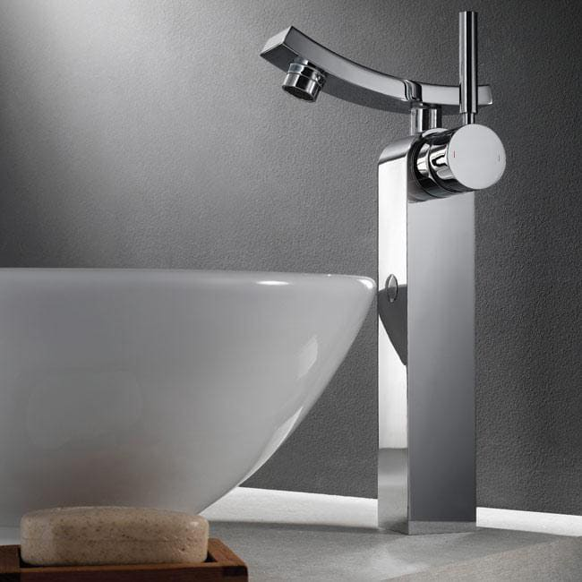 Kraus Kef14300ch Single Lever Vessel Faucet With Solid Brass Construction Hydroplast Ceramic