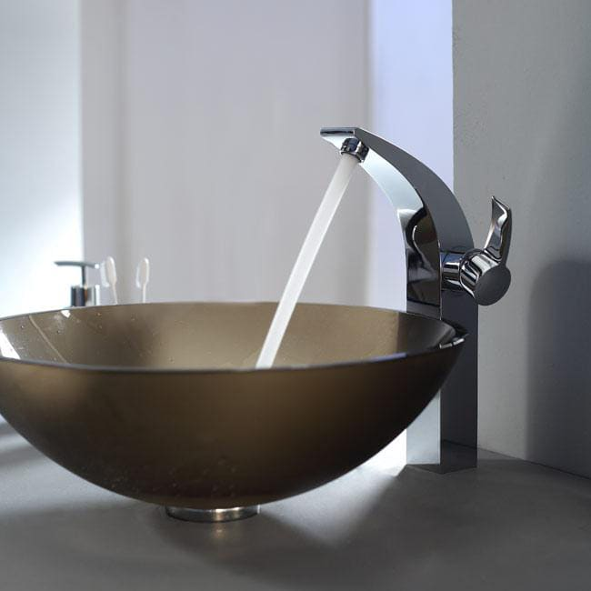 Kraus Kef14700ch Single Lever Vessel Faucet With Solid