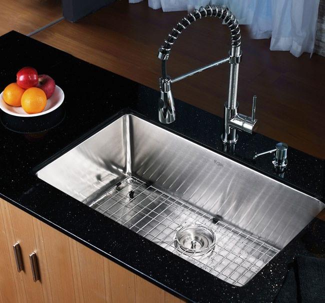Marvelous ... Kraus Kitchen Sink Series KHU10030   Lifestyle View ...