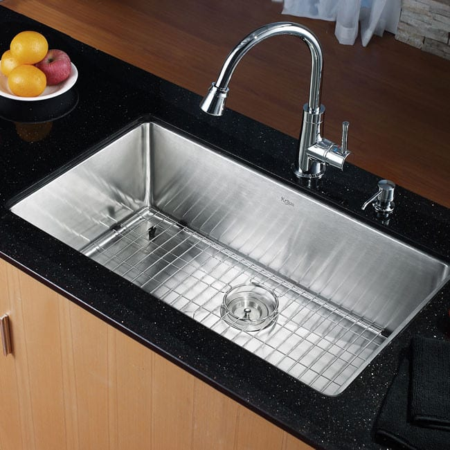 Elegant ... Kraus Kitchen Sink Series KHU10032   Kitchen View ...