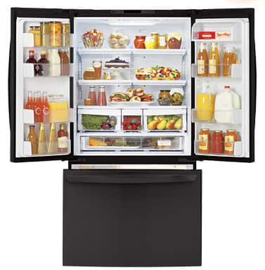 Lg Lfc25776sb 25 0 Cu Ft French Door Refrigerator With 4