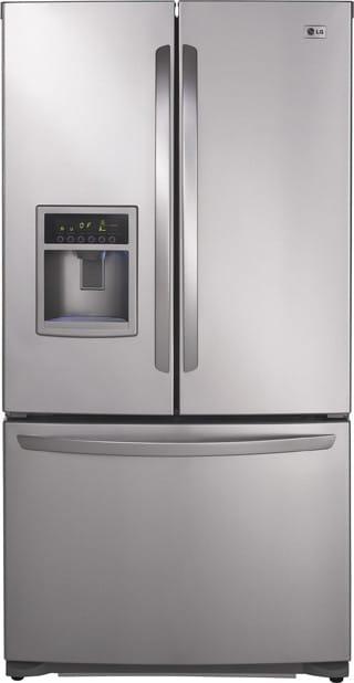 Lg Lfx25961al 24 7 Cu Ft French Door Refrigerator With 4