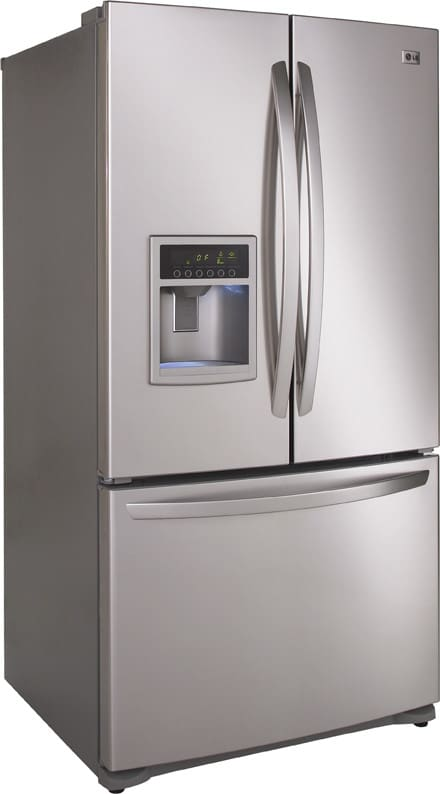 Lg Lfx25961al 24 7 Cu Ft French Door Refrigerator With 4