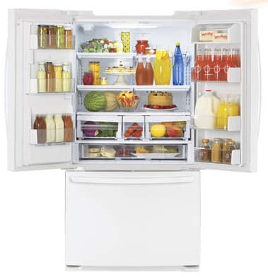 Lg Lfx25976sw 24 7 Cu Ft French Door Refrigerator With 4
