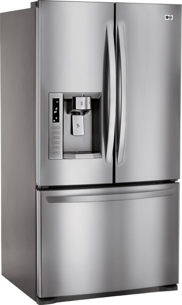 Lg Lfx28977st 27 6 Cu Ft French Door Refrigerator With