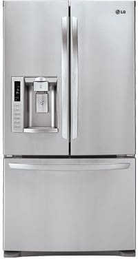 Lg Lfx28978st 27 6 Cu Ft French Door Refrigerator With 4