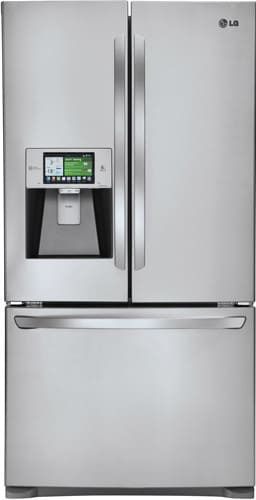 Lg Lfx31995st 31 Cu Ft French Door Refrigerator With
