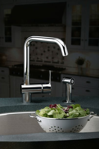 Elkay Lk6166nk Single Lever Cast Spout Faucet With 9 Inch