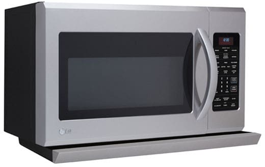 Lg Lmh2016sw 2 0 Cu Ft Over The Range Microwave Oven