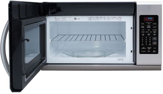 Lg Lmh2016st 2 0 Cu Ft Over The Range Microwave Oven