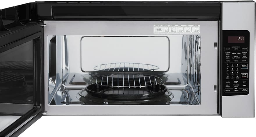 Lg Lmvh1711st 1 7 Cu Ft Over The Range Microwave With