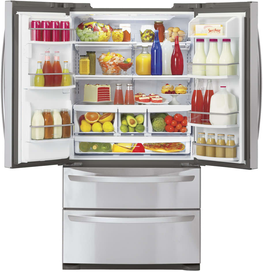 Lg Lmx28988 27 5 Cu Ft French Door Refrigerator With