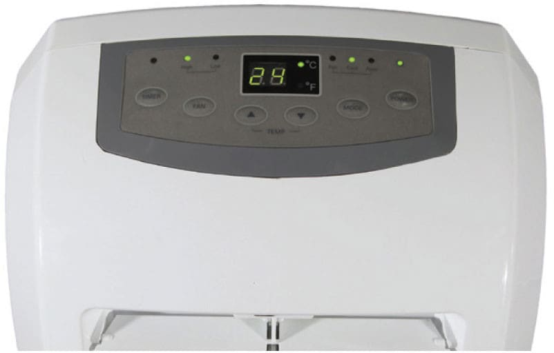 lg lp1015wnr btu portable air conditioner lg lp1015wnr angle view lg lp1015wnr multiple fan speeds with auto cool - Commercial Cool Portable Air Conditioner