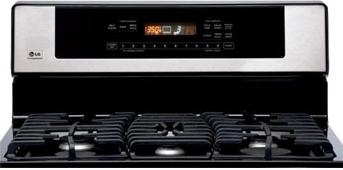 Lg Lrg30357st 30 Inch Freestanding Gas Range With 5 Sealed