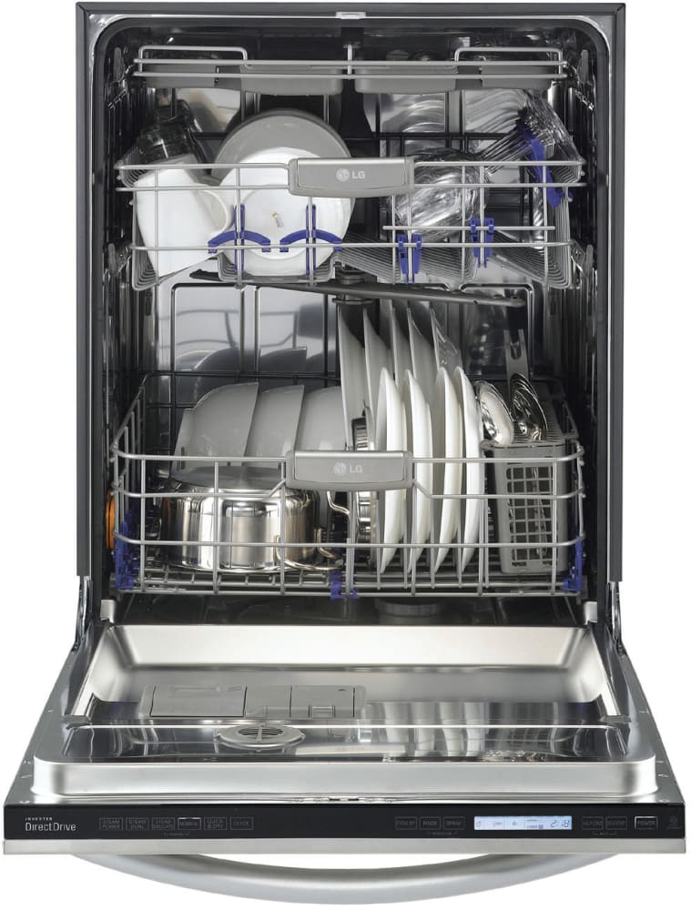 Lg Lsdf9962st 24 Inch Fully Integrated Dishwasher With