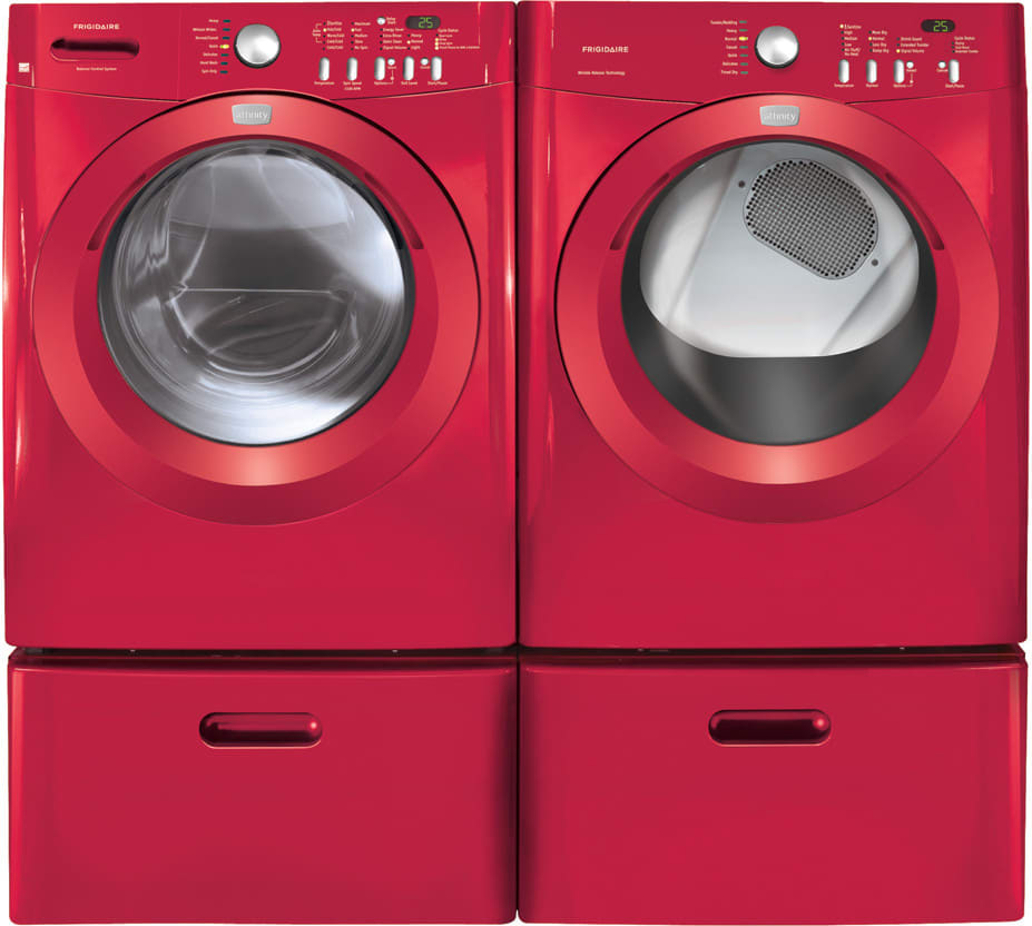frigidaire affinity series faqe7011kr sidebyside with matching washer