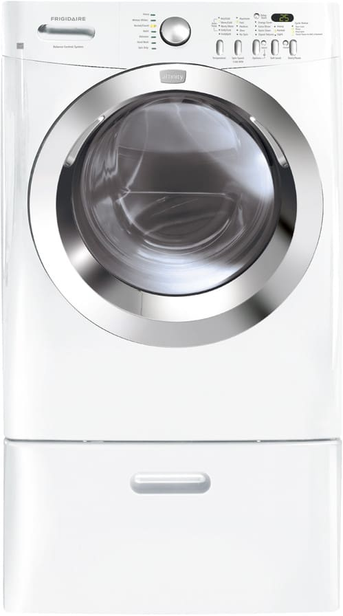 Frigidaire Fafw3574kw 27 Inch Front Load Washer With 3 5
