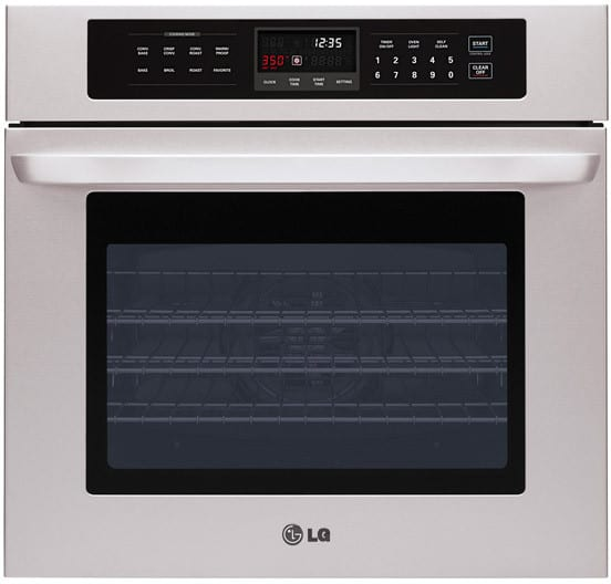 Lg Lws3010st 30 Inch Single Electric Wall Oven With 4 7 Cu