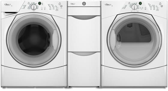 Whirlpool Wfw8400tw 27 Inch Front Load Washer With 3 7 Cu