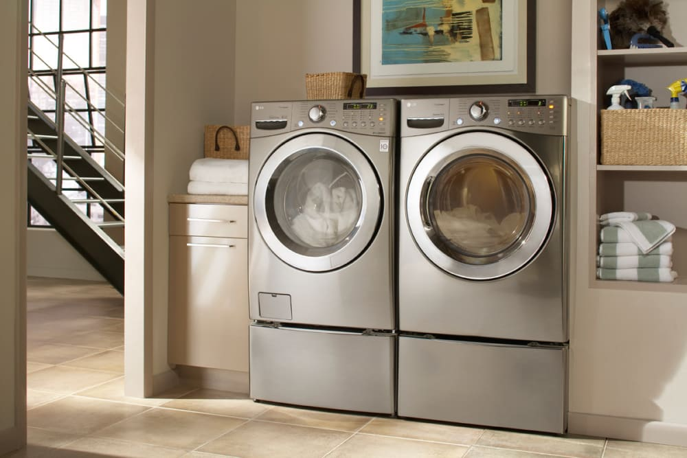 Lg Wm3360hrca 27 Inch Front Load Washer With 3 9 Cu Ft