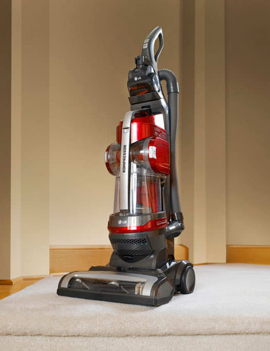 Lg Luv200r Upright Bagless Vacuum Cleaner With 12 Amp