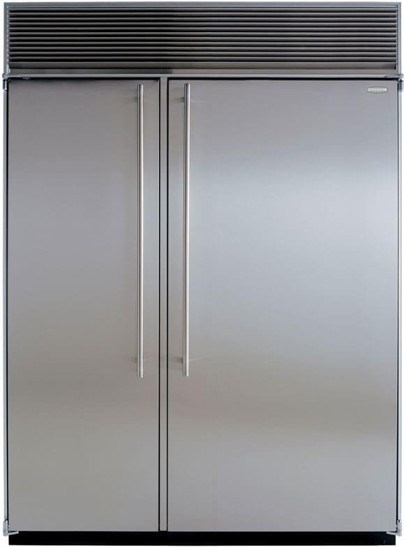Marvel M60csssp 60 Inch Built In Side By Side Refrigerator