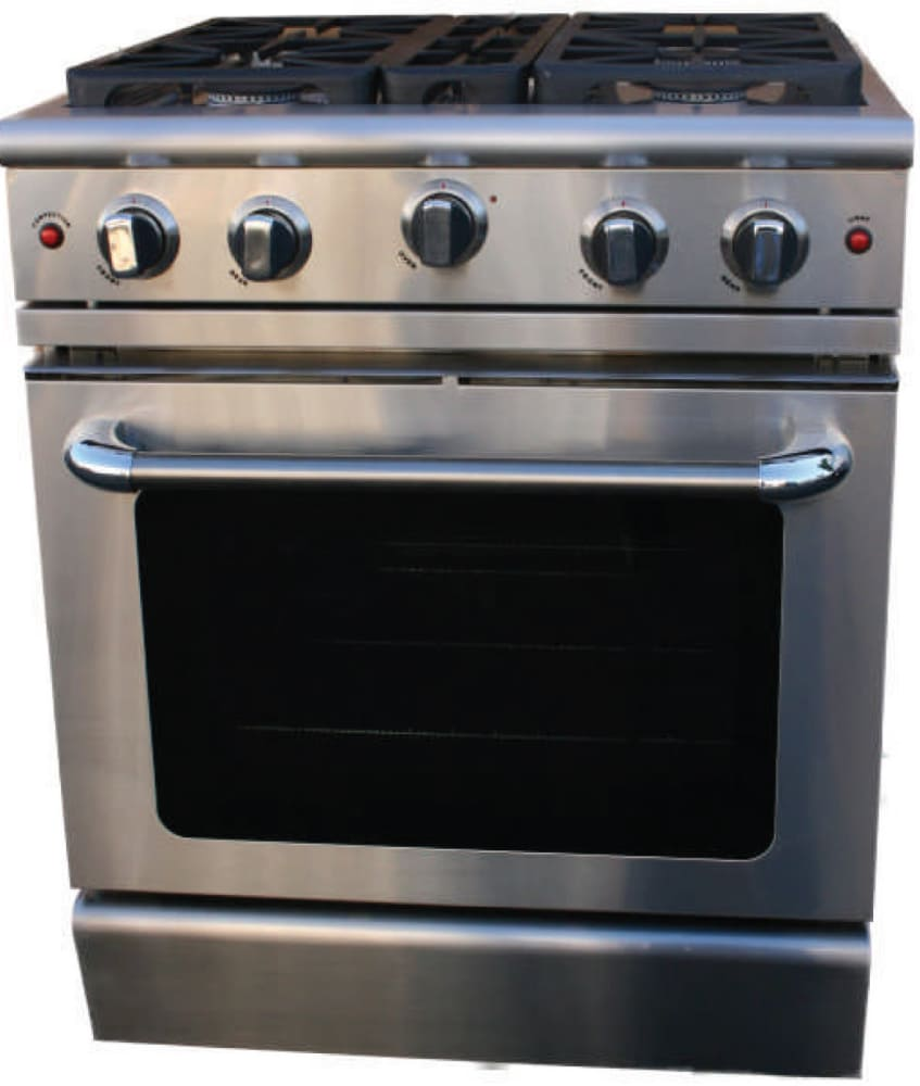 Precision Auto Sales >> Capital MCR304N 30 Inch Pro-Style Gas Range with 4 Power-Flo Sealed Burners, 4.9 cu. ft ...