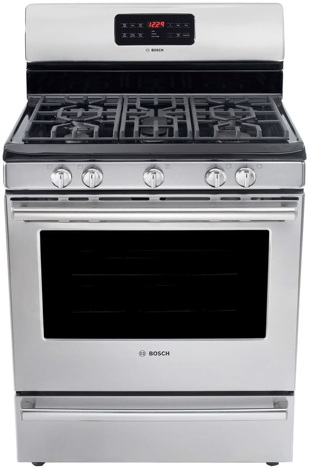 Bosch Hgs5l53uc 30 Inch Freestanding Gas Range With 5