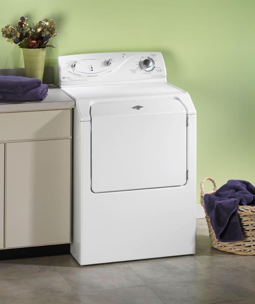 Maytag MDE8400AYW 27 Inch Atlantis Electric Dryer w/ Infinite ...