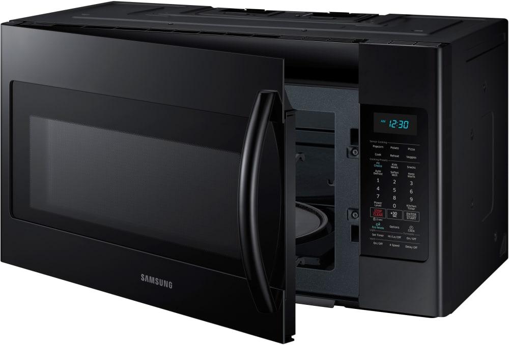 Samsung Me18h704sfb 1 8 Cu Ft Over The Range Microwave