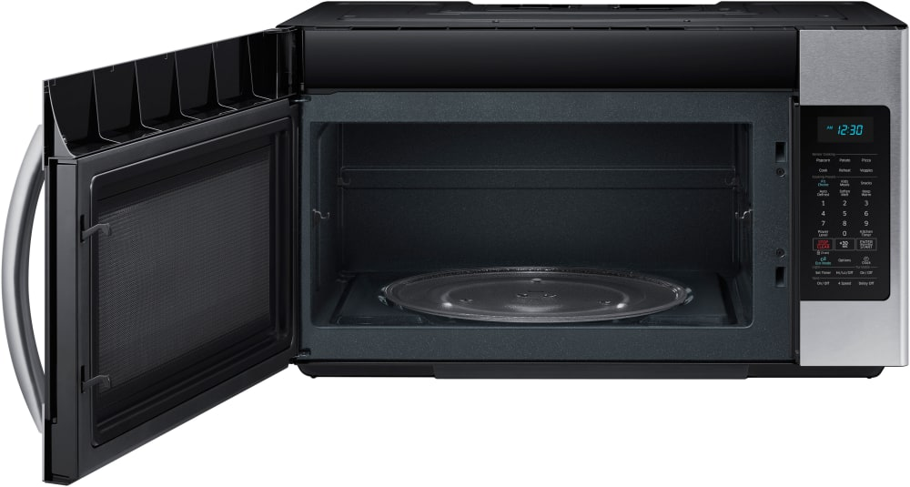 Samsung me18h704sfs 1 8 cu ft over the range microwave - How to vent a microwave on an interior wall ...