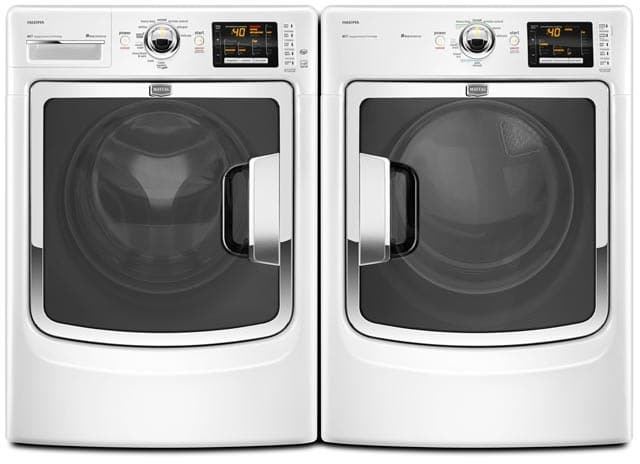 Maytag Med6000xw 27 Inch Electric Steam Dryer With 7 4 Cu