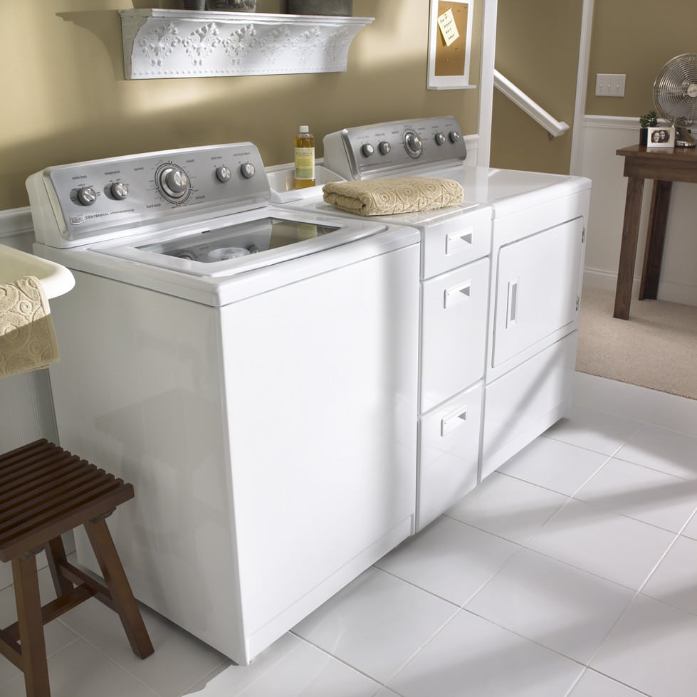 Maytag MEDC700VW 27 Inch Electric Dryer with 7.4 cu. ft. SuperSize ...