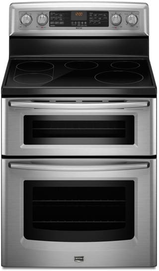 Maytag Met8775xs 30 Inch Freestanding Electric Double Oven