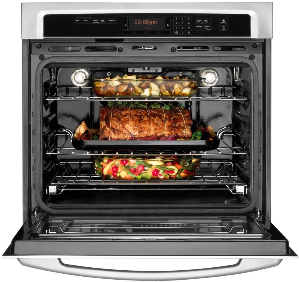 Maytag Mew9530as 30 Inch Single Electric Wall Oven With