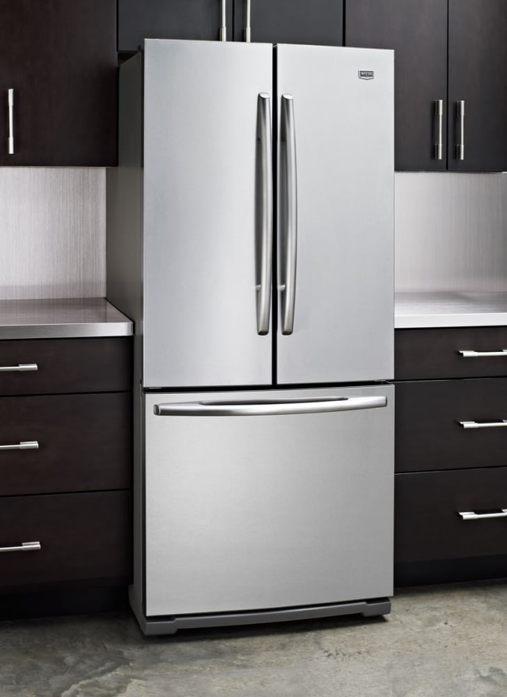 Maytag mff2055yeb 19 6 cu ft french door refrigerator for 19 6 cu ft french door refrigerator