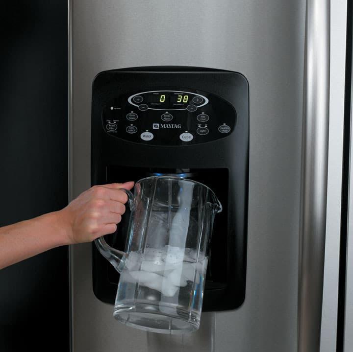 Maytag Mfi2568aes 24 9 Cu Ft French Door Refrigerator