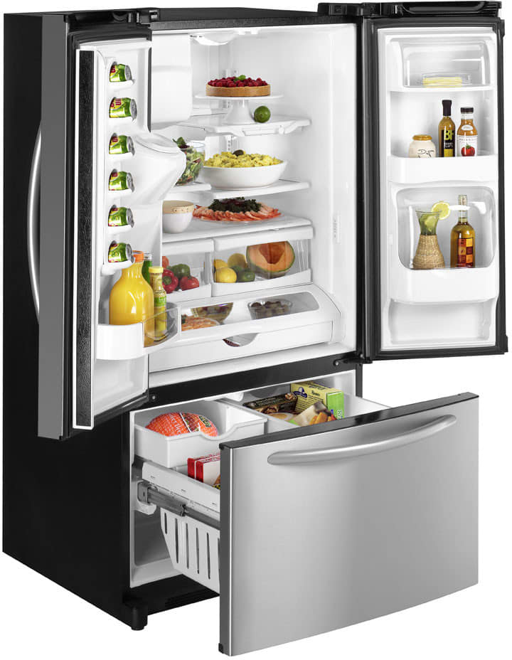 Maytag Mfi2568aes 24 9 Cu Ft French Door Refrigerator With 2