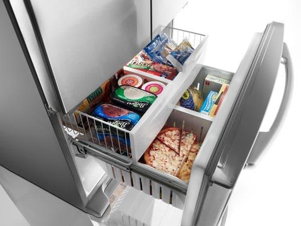 Maytag Mfi2670xew 25 5 Cu Ft French Door Refrigerator