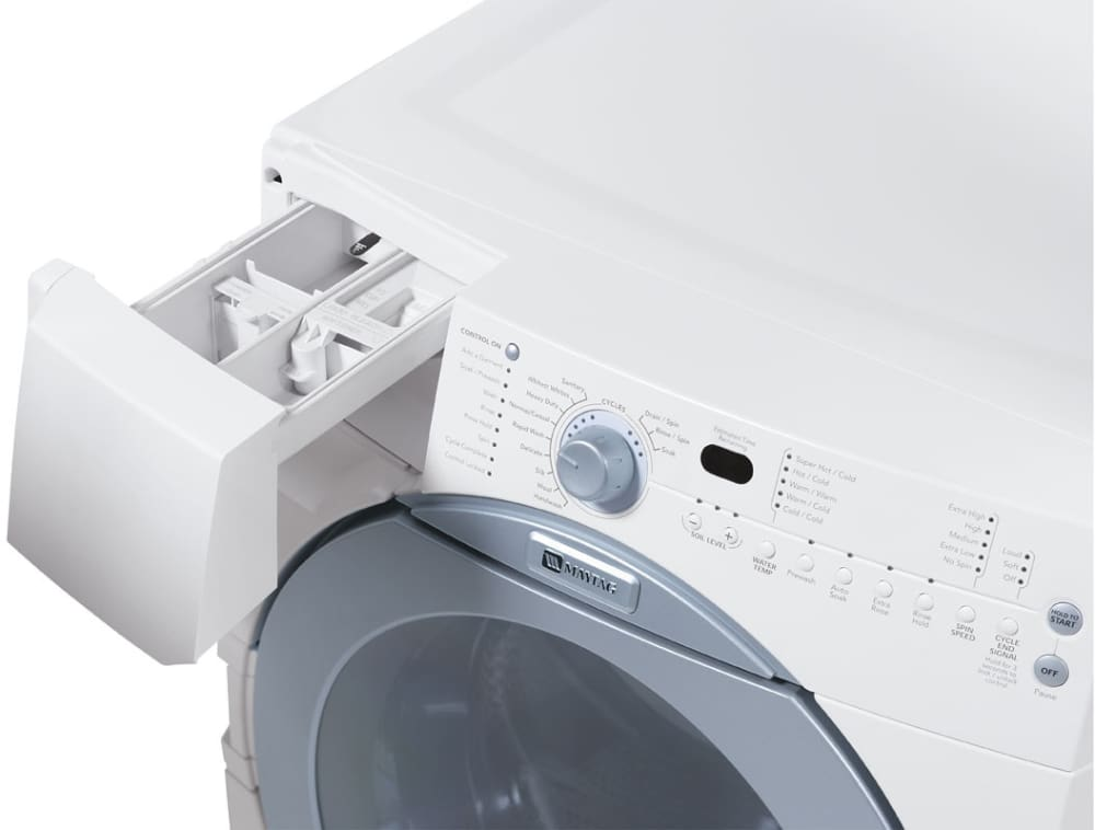 Maytag Mfw9700sq 27 Inch Front Load Washer With 4 0 Cu Ft