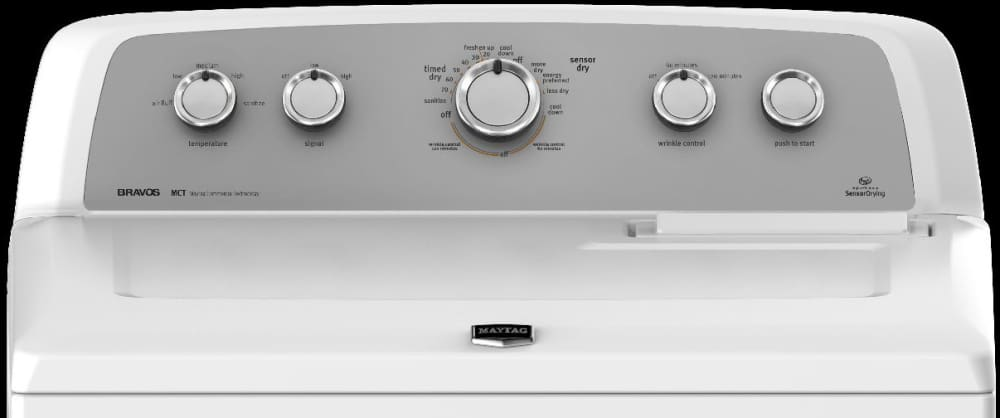 Maytag Mgdx500bw 29 Inch Gas Dryer With 7 0 Cu Ft