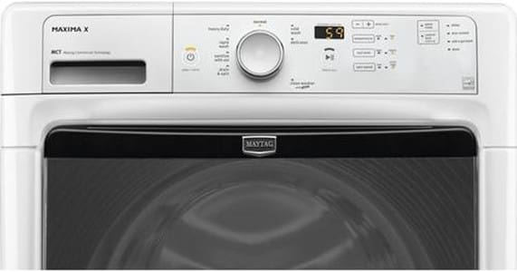 Maytag Mhw3000bw 27 Inch Front Load Washer With 4 1 Cu Ft