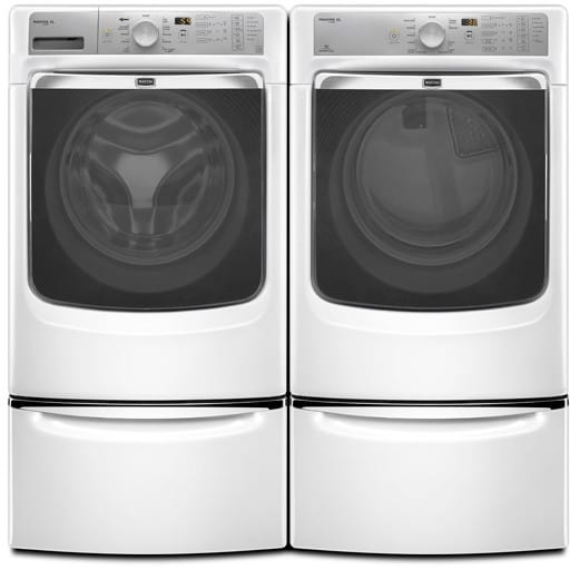 Maytag MHW7000AW 27 Inch Front-Load Washer With 4.3 Cu. Ft