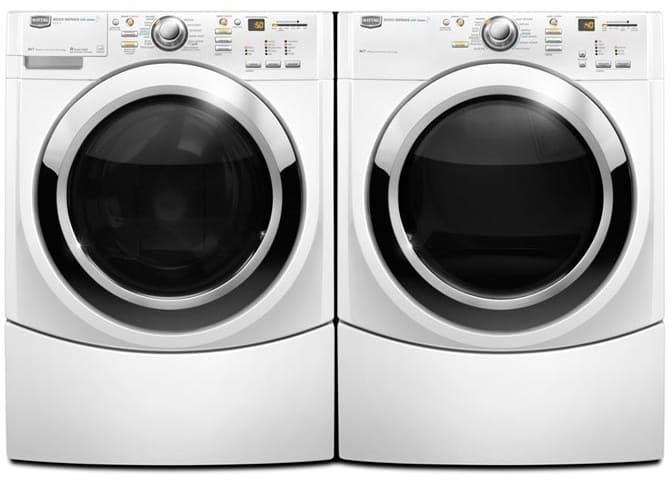 Maytag Mhwe950ww 27 Inch Front Load Steam Washer With 3 9