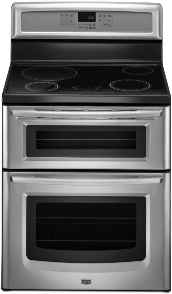 Heating Induction Cook Tops ~ Maytag mit bs inch freestanding induction double