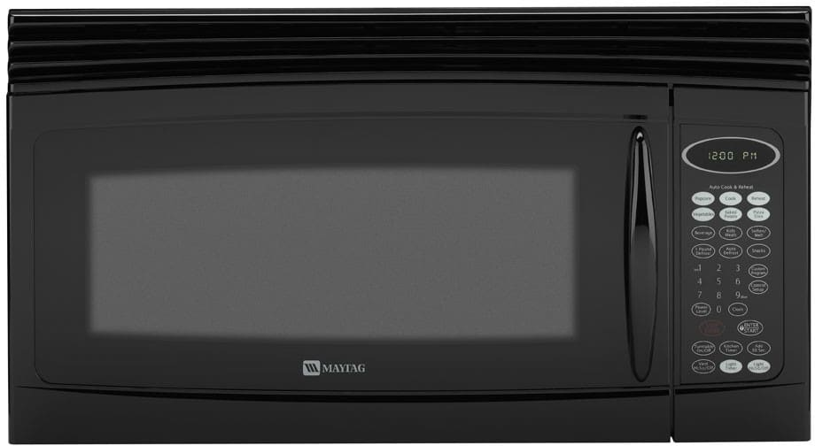 Maytag Mmv4205bab 2 0 Cu Ft Over The Range Microwave