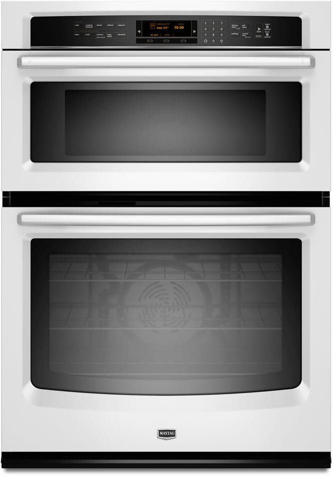 Maytag Mmw9730aw 30 Inch Microwave Combination Wall Oven