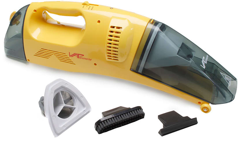 vapamore multifloor handheld vacuum cleaner mr50 shown with parts - Handheld Vacuum Cleaner